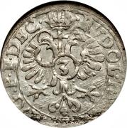 3 Kreuzer - Rudolf II (Johann I) – revers