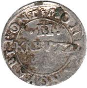 2 kreuzer Johann II. – revers
