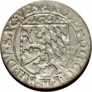 3 Kreuzer - Rudolf II (Johann I) – avers