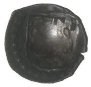 1 pfennig Johann I. – avers