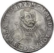 1 Thaler - Johann I. – avers