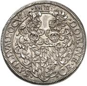 1 Thaler - Johann I. – revers