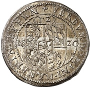 12 Kreuzer - Johann II. (Kipper) – revers