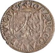 3 kreuzer Johann II. – avers