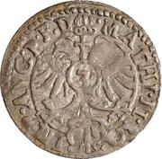 3 kreuzer Johann II. – revers