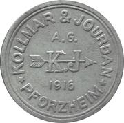20 pfennig - Pforzheim (Kollmar & Jourdan AG) -  avers