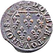 Double-Tournois Henriette de Lorraine (Principauté de Phalsbourg et Lixheim, Type 2) – revers