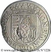Teston au buste au chaperon et à l'écu Henriette de Lorraine (Principauté de Phalsbourg et Lixheim) – revers