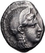 Hemidrachm (Pharsalos) – avers