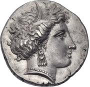 Stater (Pheneos) – avers