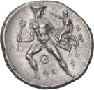 Stater (Pheneos) – revers