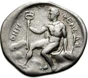 Drachm (Pheneos) – revers