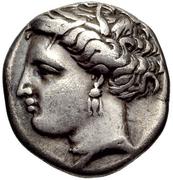 Hemidrachm (Pheneos) – avers
