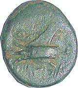 Dichalque d'Arados (Zeus seul, proue de galère) – revers