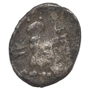1/16 shekel (hippocampe) – revers