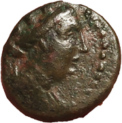 Bronze Æ15 - Karne (Tyche) – avers