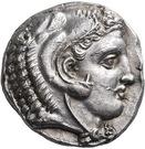 Tetradrachm (Philippi) – avers