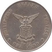 1 peso  (Léproserie de l'île de Culion) – revers