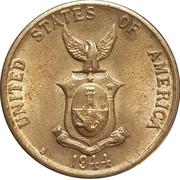 5 centavos (administration américaine) -  avers