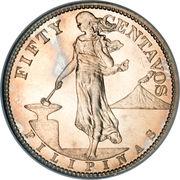 50 centavos (administration américaine) -  avers