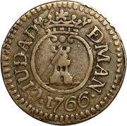 1 barilla - Carlos III – avers