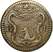 1 barilla - Carlos III – revers