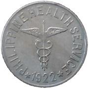 1 peso  (Léproserie de l'île de Culion) -  avers