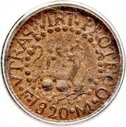 1 Octavo - Fernando VII – revers