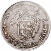 8 Reales (1er type) – avers