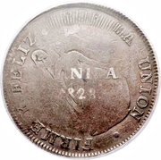 8 Reales (1st type) – revers