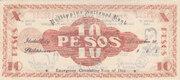 10 Pesos (Iloilo) – revers