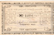 10 Centavos (Mountain Province) – revers