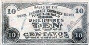 10 Centavos (Bohol) – revers