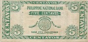 5 Centavos (Iloilo) – revers