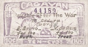 10 Centavos (Cagayan) – avers