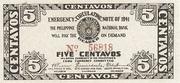 5 Centavos (Cebu) – avers