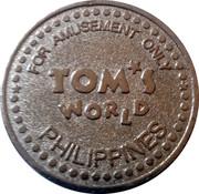 Tom's World Amusement Token (Type 2) – revers