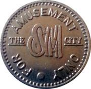 The SM City Amusement Token – avers