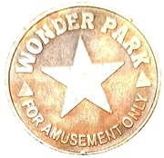 Amusement Token - Wonder Park – revers