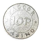 10 Pesos - PAGCOR Casino – avers