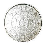 10 Pesos - PAGCOR Casino – revers