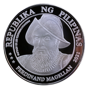 Medal - Ferdinand Magellan (Introduction of Christianity) – avers