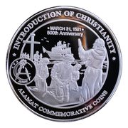 Medal - Ferdinand Magellan (Introduction of Christianity) – revers