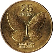 25 sentimo (petit module) -  revers