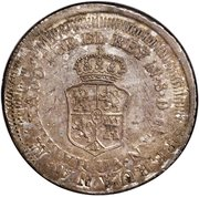 "8 Reales - Ferdinand VII Type I ""Manila"" Countermarked – revers"