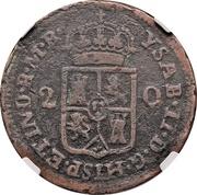2 Quartos - Colonie espagnole – avers