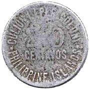 20 centavos  (Léproserie de l'île de Culion) – avers