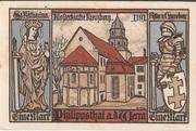 1 Mark  (Philippsthal) -  revers
