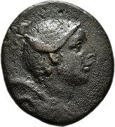 Bronze Æ24 - Philomelion – avers