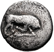 Drachm (Phlious) – avers
